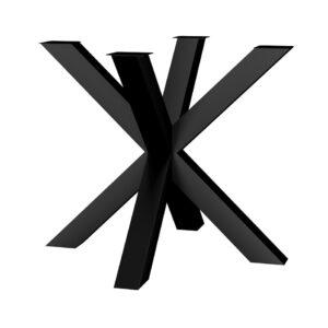 noga metalowa do stołu Pająk S